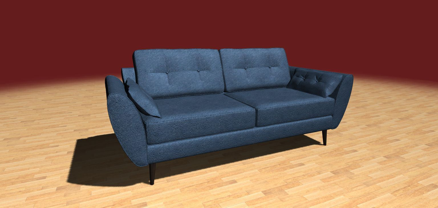 Sofa Free 3D Model | ArtisGL 3D Publisher   Online, Real Time And  Interactive 3D Models